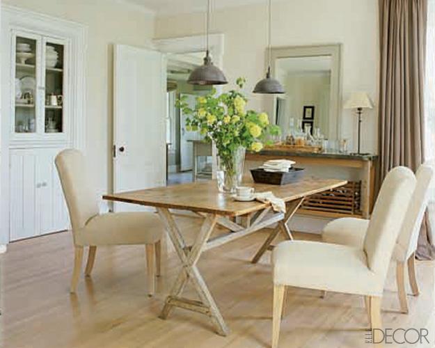 Elle Decor Best Dining Room Tables Sets